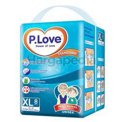 P.Love Standard Adult Diaper XL8