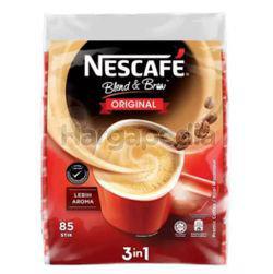 Nescafe 3in1 Blend & Brew Regular 85x19gm