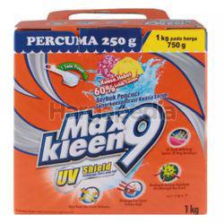 MaxKleen 9 UV Shield Concentrate Detergent Powder 1kg