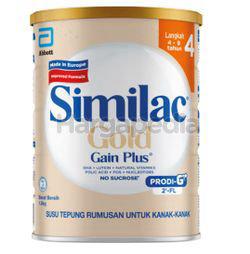 Similac Gold Gain Kid Stage 4 Tin 1.8kg