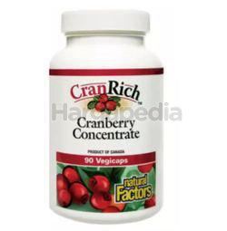 Natural Factors Cranrich Cranberry Concentrate 90s