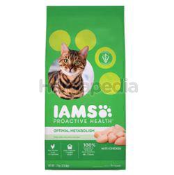 IAMS Dry Cat Food Pro Health Adult Optimum Metabolic Dry Food Cat Food 3.18kg