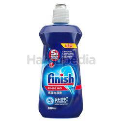 Finish Rinse Aid Shine Dry Dishwasher Cleaning 500ml