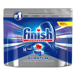 Finish Quantum Power Ball Dishwasher Cleaning Tablets 18s