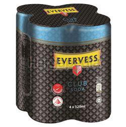 Evervess Club Soda Can 4x320ml