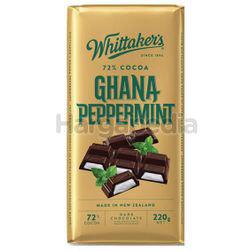 Whittaker's Block Ghana Peppermint 220gm