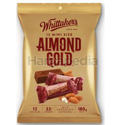 Whittaker's Share Bags Almond Gold 180gm