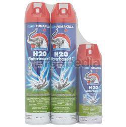 Fumakilla H2O Waterbased-T Aerosol 2x585ml+300ml