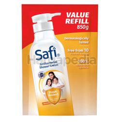 Safi Anti-Bacterial Shower Cream Fresh Protect Refill 850ml