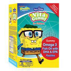 Super Kids Vitamin Gummy Omega 3 with DHA&EPA  7s
