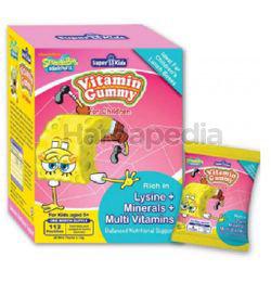 Super Kids Vita Gummy Lysine + Minerals + Multi Vitamins 7s