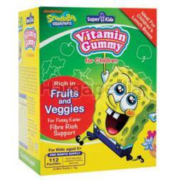 Super Kids Vita Gummy Fruits & Veggies 7s