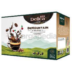 Delica DeMountain Long Black 10x10gm