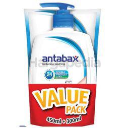 Antabax Anti-Bacterial Hand Soap Fresh 450ml + Fresh Refill 300ml