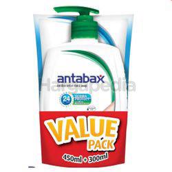 Antabax Anti-Bacterial Hand Soap Pure Pine 450ml + Fresh Refill 300ml