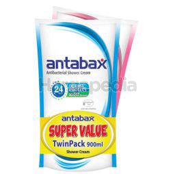 Antabax Antibacterial Shower Cream Refill Fresh & Gentle Care 2x900ml