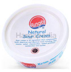 Sunglo Natural Sour Cream 210gm