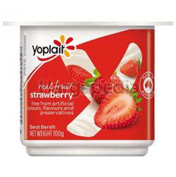 Yoplait Yogurt Strawberry 100gm