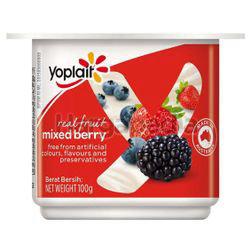 Yoplait Yogurt Mixed Berry 100gm