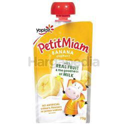 Yoplait Petit Miam Yogurt Banana 70gm