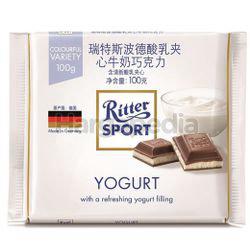 Ritter Sport Yogurt Chocolate Bar 100gm