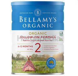 Bellamy's Organic Follow-On Formula Milk Stage 2 900gm