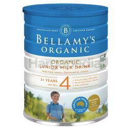 Bellamy's Organic Junior Milk Drink Stage 4 900gm
