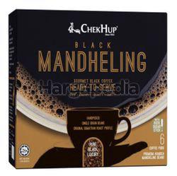 Chek Hup Black Mandheling Gourmet Black Coffee 6x10gm