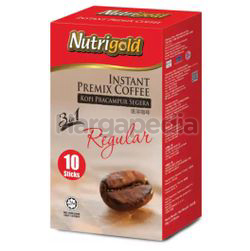 Nutrigold 3in1 Instant Coffee Regular 10x20gm