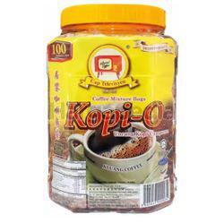 Kluang Black Coffee Kopi-O Tubs 100x10gm