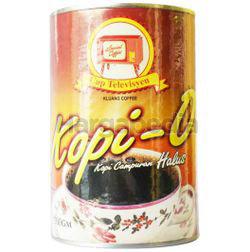 Kluang Black Coffee Kopi-O Powder Fine 500gm