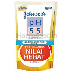 Johnson's pH5.5 Nourishing Body Wash Refill Honey 2x500ml