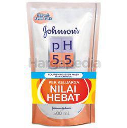 Johnson's pH5.5 Nourishing Body Wash Refill Almond 2x500ml
