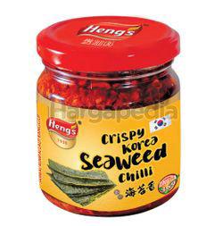 Heng's Crispy Seaweed Chilli 160gm