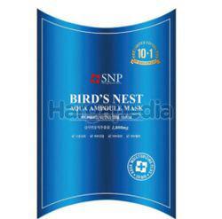 SNP Bird's Nest Aqua Ampoule Mask 10s