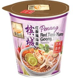 My Kuali Penang Red Tom Yum Goong Noodle Cup 85gm