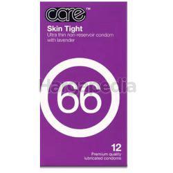 Care 66 Skin Tight Condom 12s