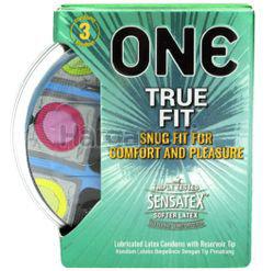 ONE Condoms True Fit 3s