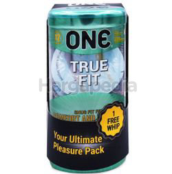 ONE Condoms True Fit 12s + 1 Whip