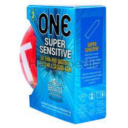 ONE Condoms Super Sensitive Street Art Edition 3s