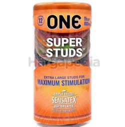 ONE Condoms Super Studs 12s