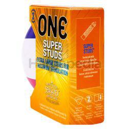 ONE Condoms Super Studs Football Edition 3s