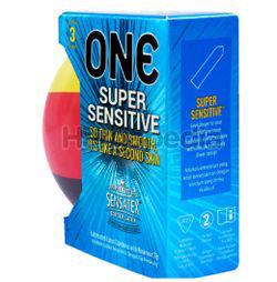 ONE Condoms Super Sensitive Football Edition 3s