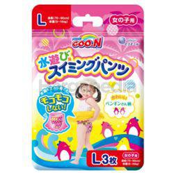 GOO.N Girl Swim Pants Diaper L 3s