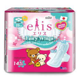 Elis Fairy Wings Sanitary Pad 25cm 14s