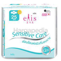 Elis Sensitive Care Sanitary Pad 25cm 14s