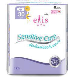 Elis Sensitive Care Sanitary Pad 30cm 12s