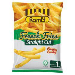 Ramly French Fries Straight Cut 1kg