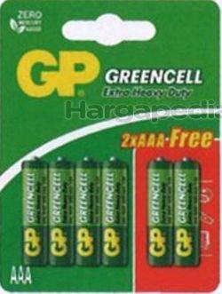 GP Greencell Extra Heavy Duty Battery 4AAA FOC 2s