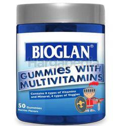 Bioglan Gummies With Multivitamins 50s